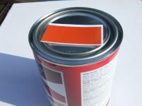 1 litre kubota orange pi ces pour tracteur agricole peint136 for Peinture orange kubota
